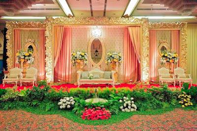 Dekorasi Pengantin Mewah Dan Sederhana
