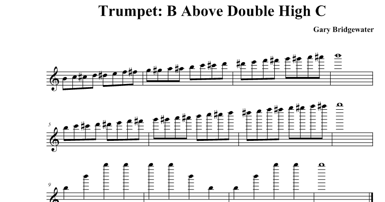 Double High F Notes – Wonderful Image Gallery