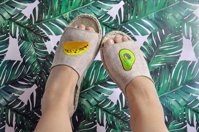 Taco Avocado Sandals