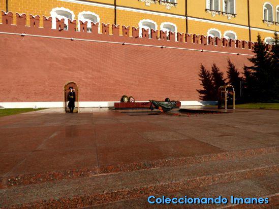 Llama Eterna Moscú