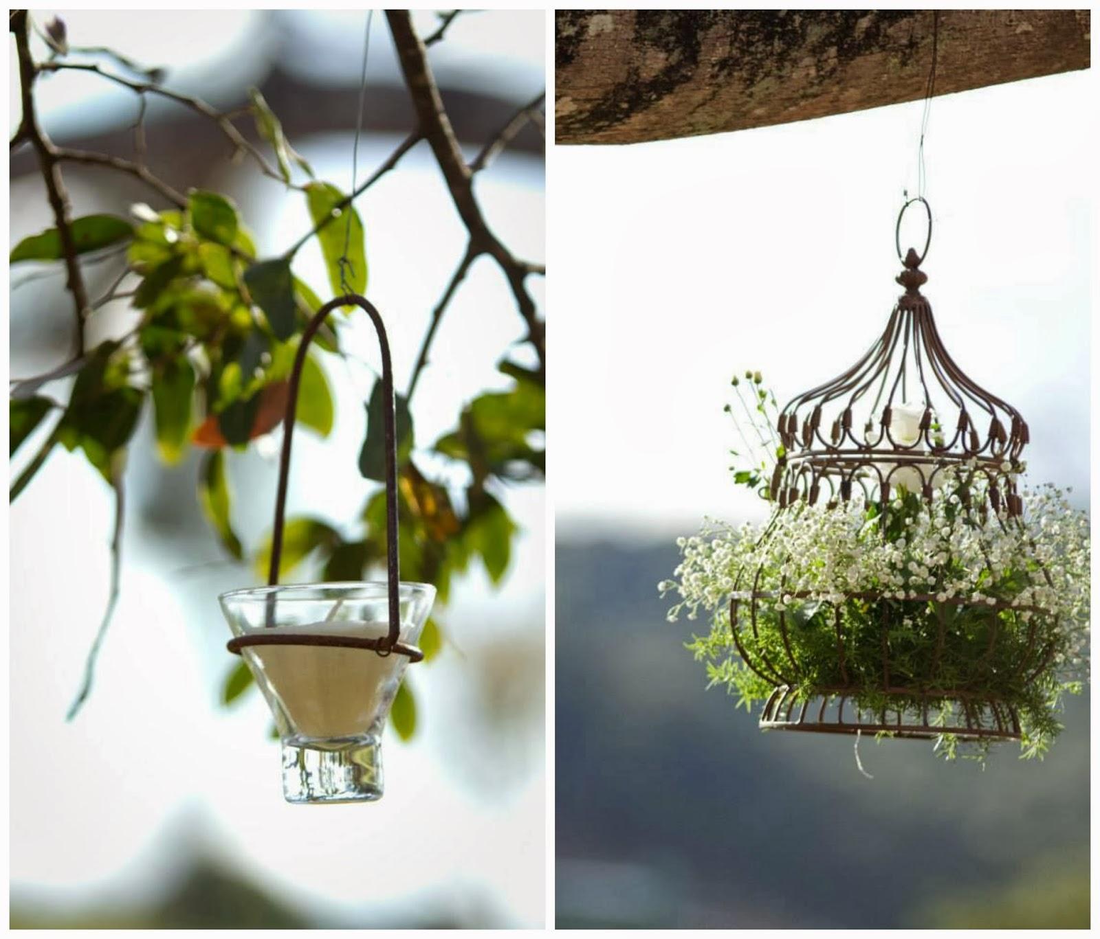 cerimônia - casamento ao ar livre - casamento de dia - altar - decoração - detalhes - flores - velas suspensas - vale verde betim