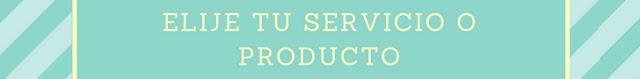 Elige tu servicio o producto de Community Manager