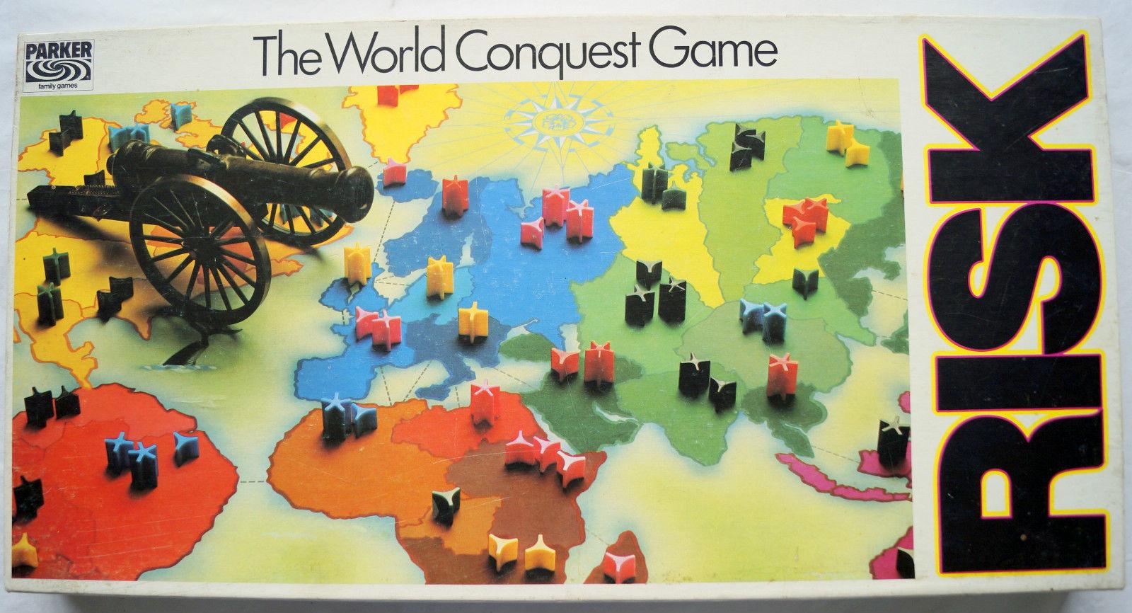 Board game world domination