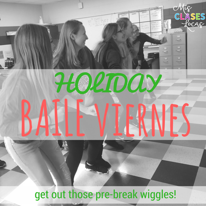 Quick Tip - Baile viernes - Holiday - sharedc by Mis Clases Locas
