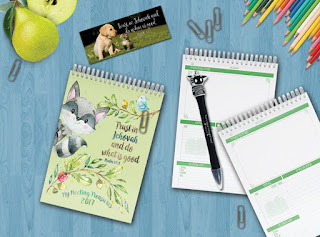 Kids' meeting notebook