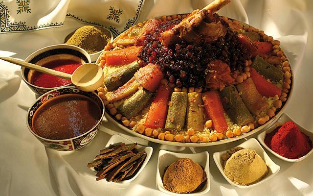 Куряне могут отведать блюда африканской кухни
