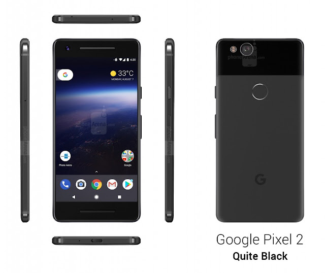 Pixel 2 Quite Black