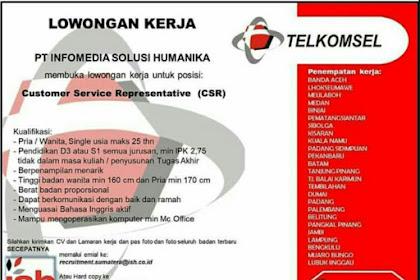 Lowongan Kerja di Telkomsel