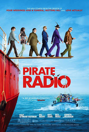 Poster Of Pirate Radio In Dual Audio Hindi English 300MB Compressed Small Size Pc Movie Free Download Only At worldfree4u.com