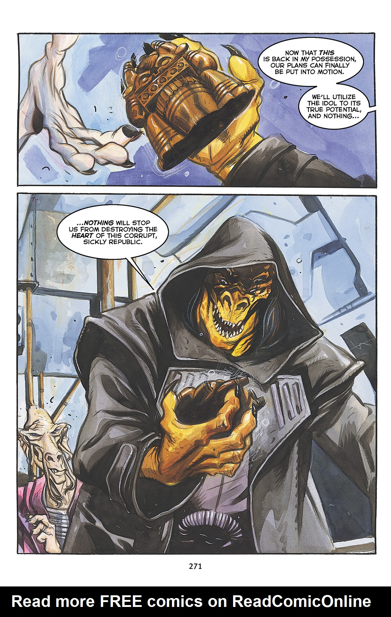 Read online Star Wars Omnibus comic -  Issue # Vol. 10 - 268