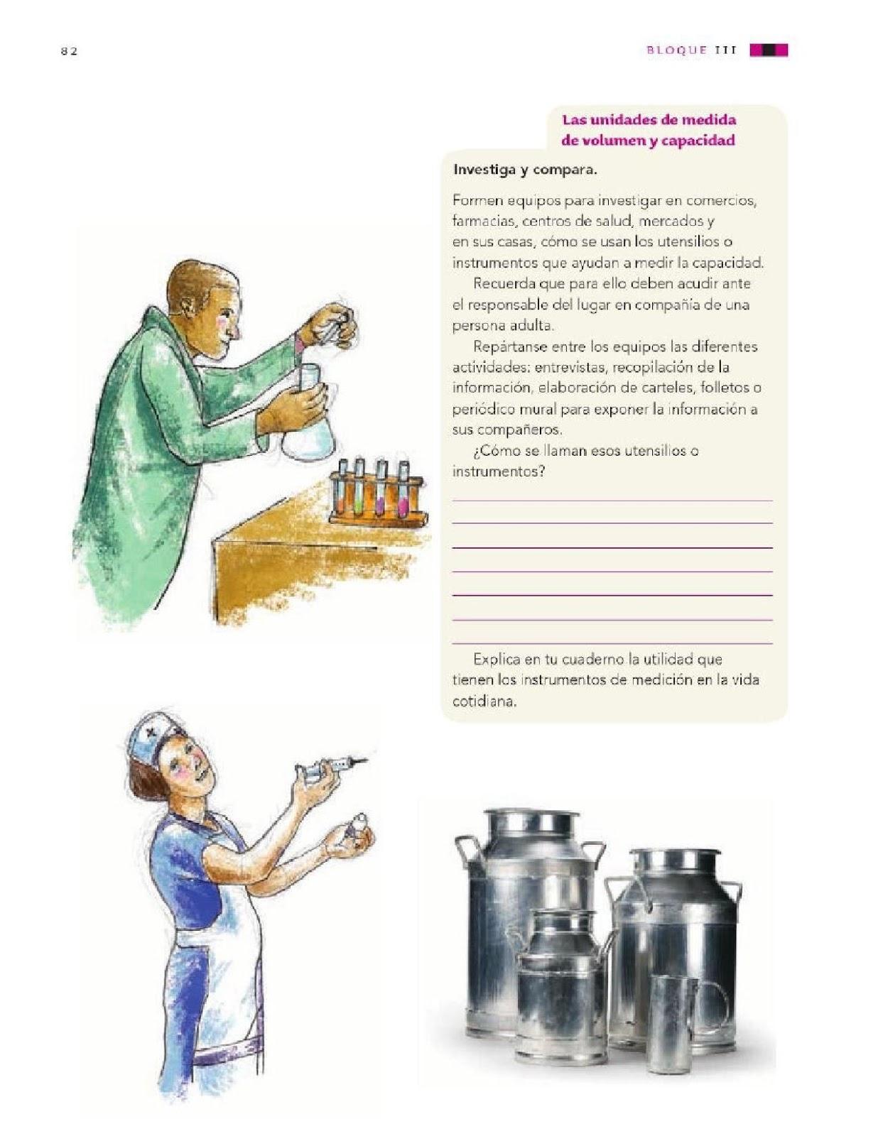 Propiedades de los materiales: masa y volumen - Bloque III