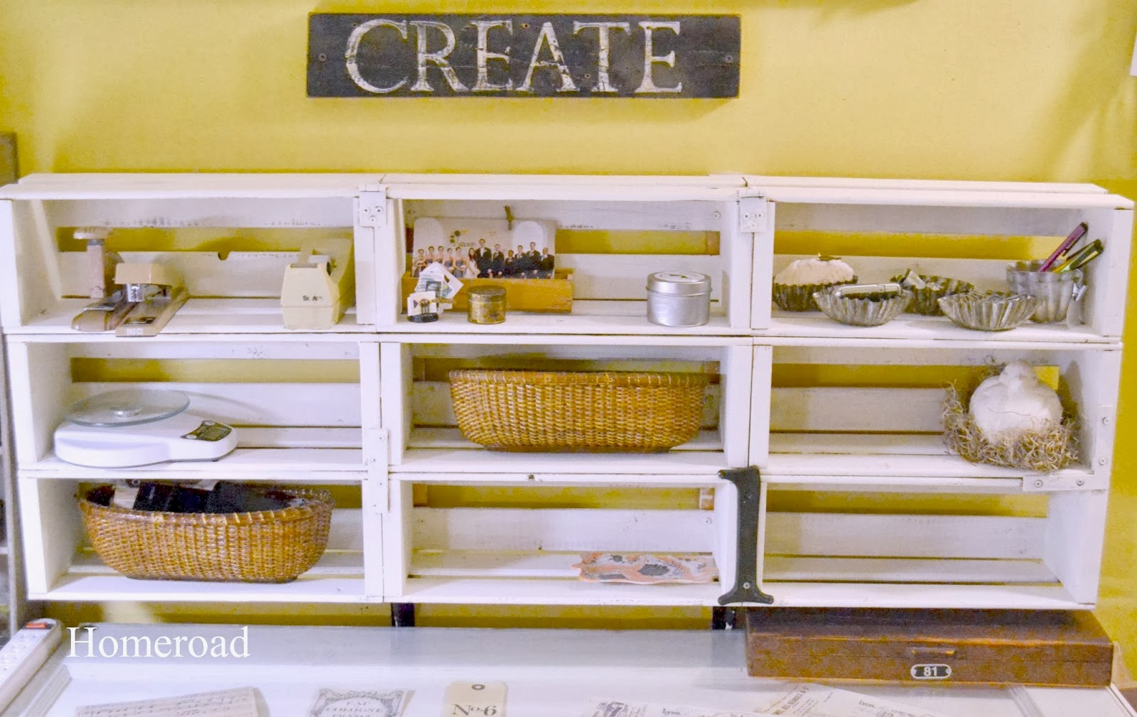 Storage For Craft Room: Craft Room With Unique Storage Ideas