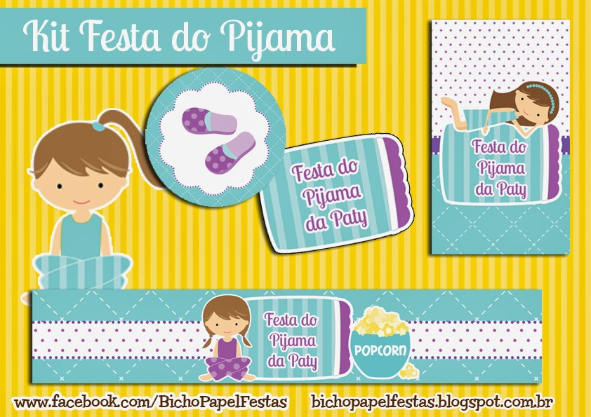 Kit Digital Festa do Pijama
