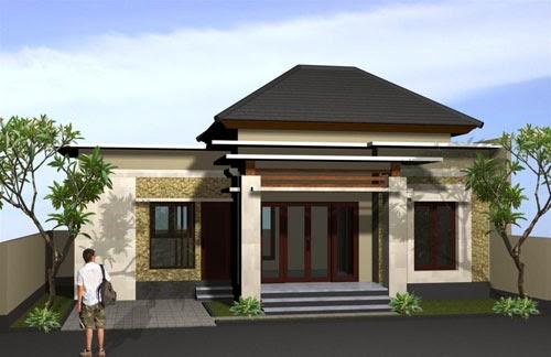 Desain Rumah Minimalisa Bali