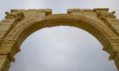 «Η αναβίωση» της Αψίδας του Θριάμβου της Παλμύρας στο Λονδίνο