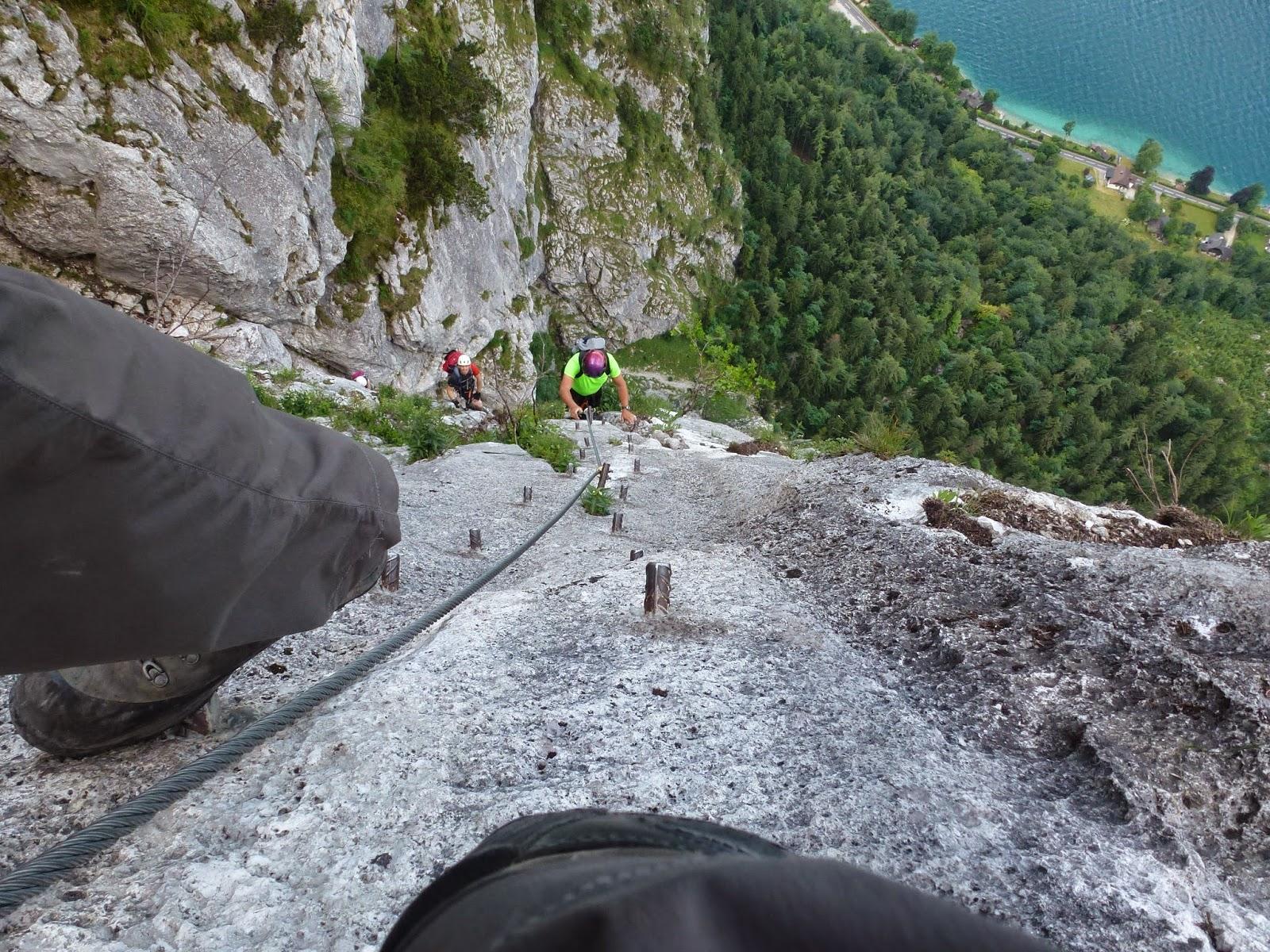 Klettersteig Mahdlgupf : Achis gipfelpunkte: mahdlgupf 1.261 m