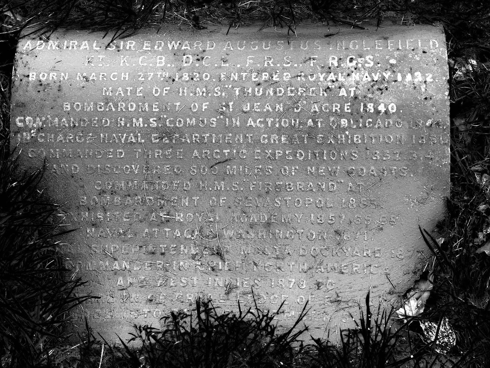 Inglefield inscription