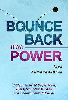 Bounce Back with Power - a new book empowers you to turn your life around by Jaya Ramachandran