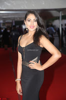Madhu Shalini in a Glamorous Deep neck Black Sleeveless Dress at Mirchi Music Awards South 2017 ~  Exclusive Celebrities Galleries 026.JPG
