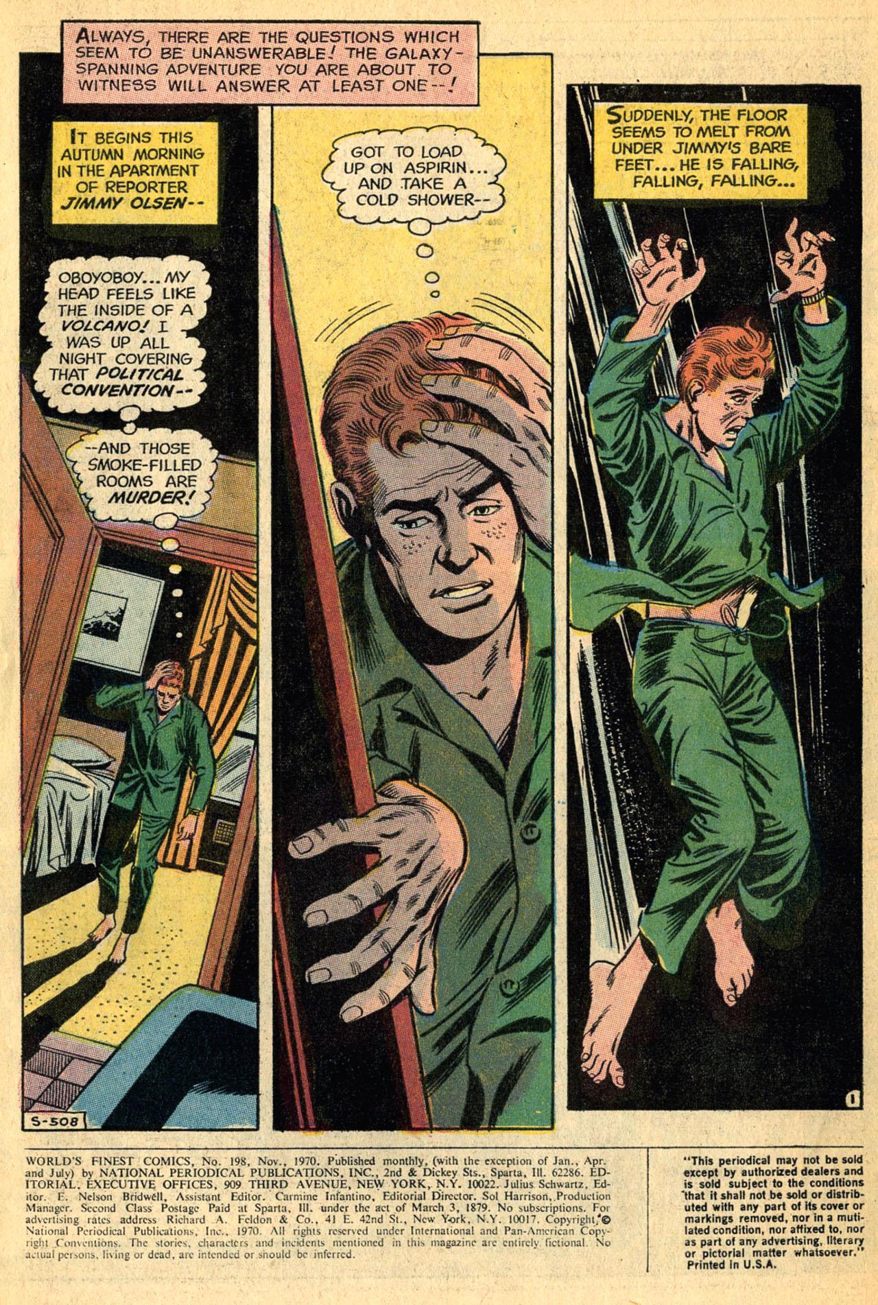 Read online World's Finest Comics comic -  Issue #198 - 3