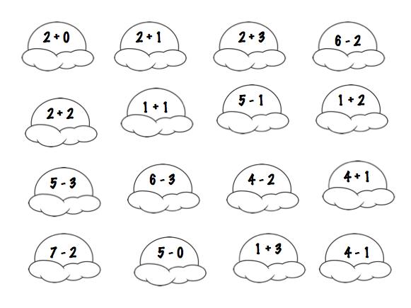 A Very Curious Class: Ice Cream Math Freebie