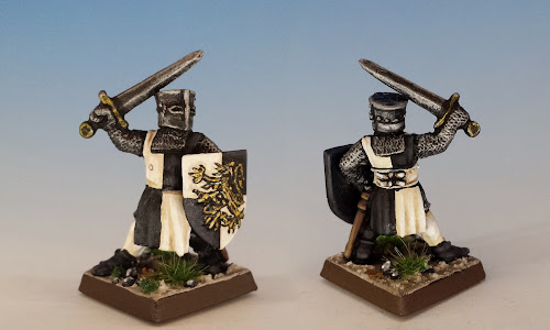 Baron Gisbar, F4 Feudals, Citadel Miniatures (1987, sculpted by Michael and Alan Perry)