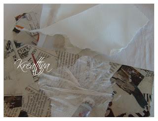 Come realizzare uno specchio in carta pesta con cuori in - Lo specchio di carta ...