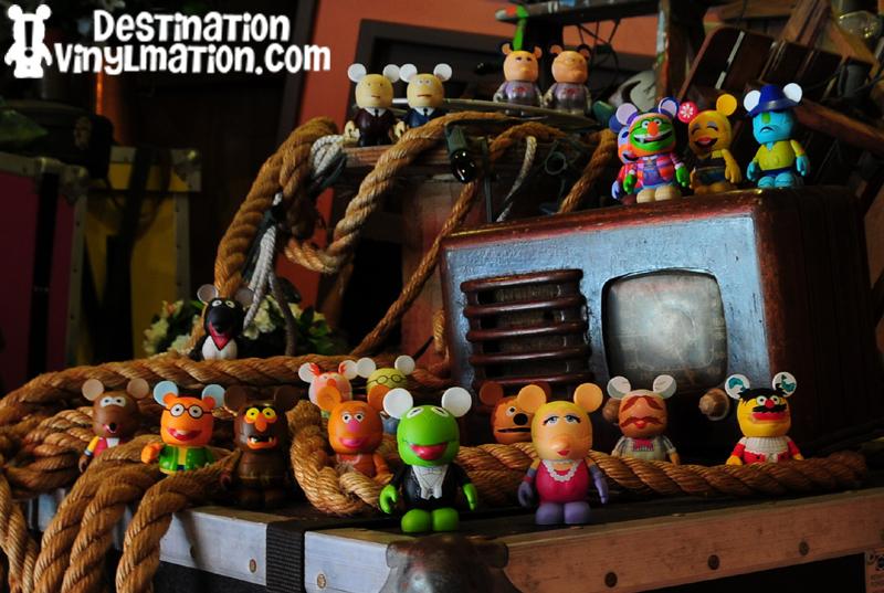 Destination Vinylmation Muppets Take Over Disney S