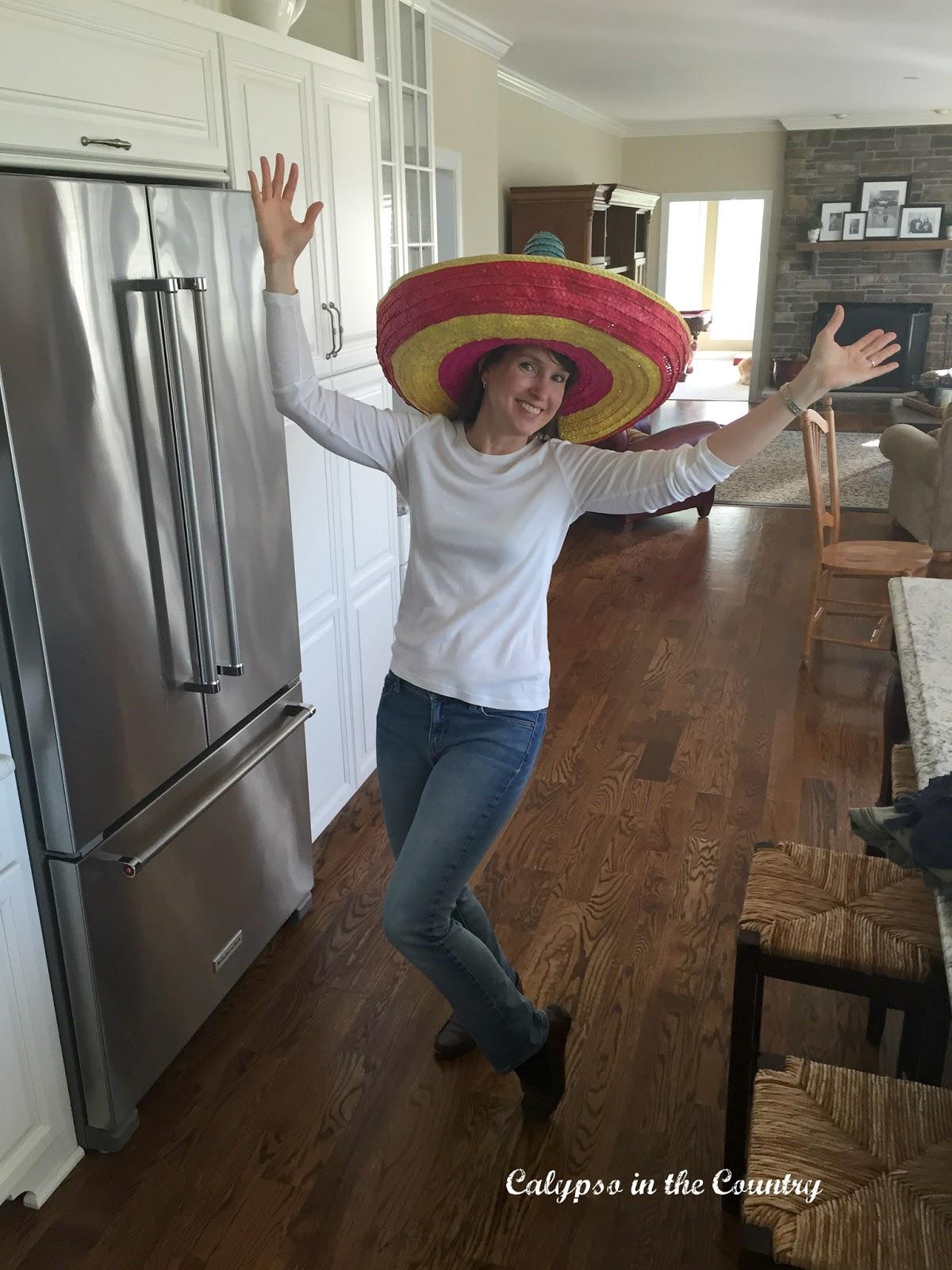 Sombrero for Cinco de Mayo