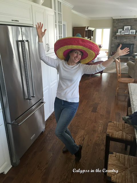 Sombrero for Cinco de Mayo