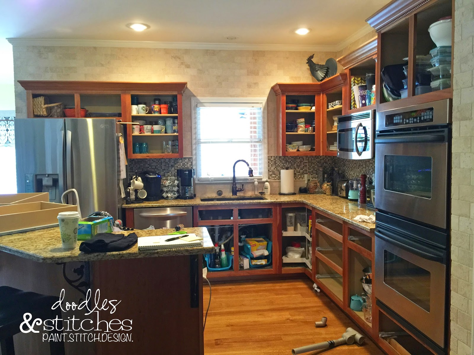 How To Degrease Top Of Kitchen Cabinets