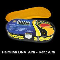 Palmilha DNA Alfa