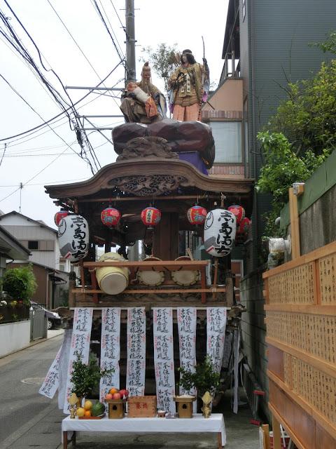 天王祭人形山車