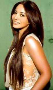 Foto de la cantante Myriam Hernández sonriendo