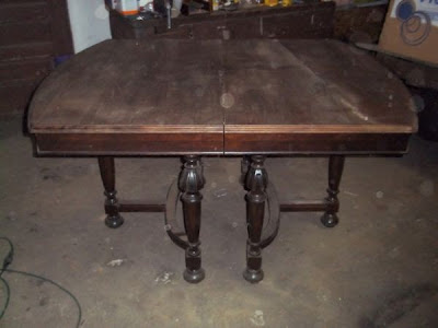 Antique Cherry Table on Craigslist