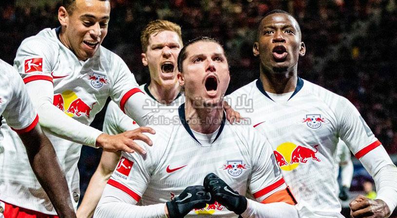 لايبزيغ يتصدر الدوري الالماني بعد الفوز على فريق فيردر بريمن بثلاثية