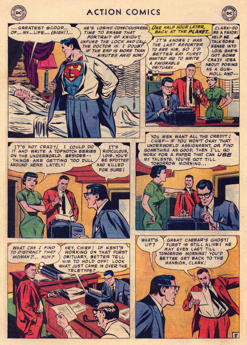 Read online Action Comics (1938) comic -  Issue #237 - 10