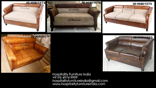 LEATHER AND CANVAS FURNITURE