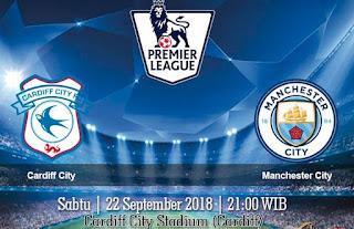 Prediksi Cardiff City vs Manchester City 22 September 2018