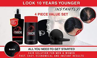 Look Thick Hair Fibers - Basic Set