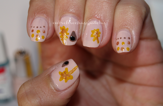 manicura otoño fall nails