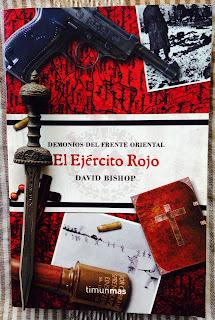 Portada del libro El ejército rojo, de David Bishop