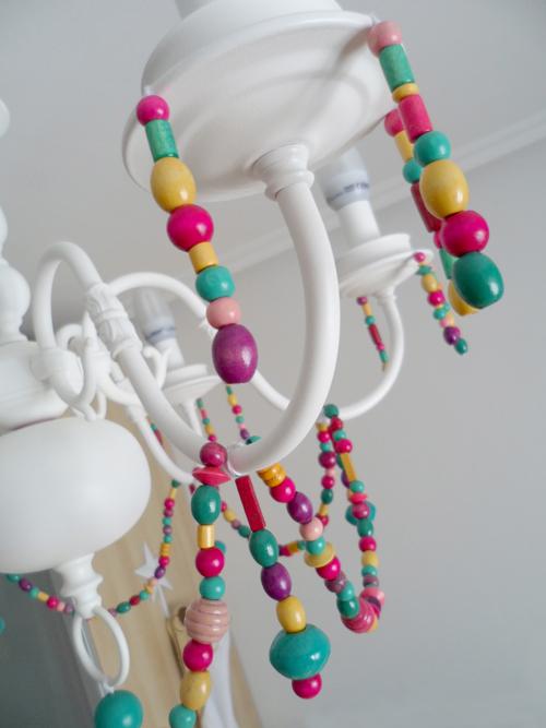 Lalole blog lampara de ara a reciclada antes y despues - Lamparas de arana antiguas ...