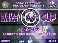 SMA Negeri 4 Bekasi Gelar Embassy Cup 2017