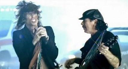 Steven Tyler & Carlos Santana