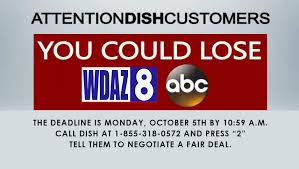 Dish Network No deal With WDAY and WDAZ TV channels yet, Dish network number