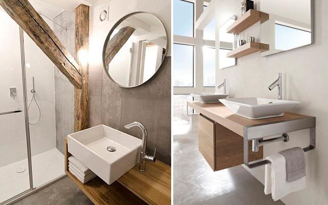 Marzua lavabos sobre encimera - Lavabos dobles sobre encimera ...