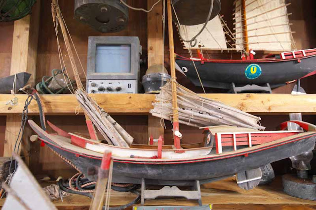 replica, fishing boats