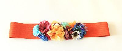 PV 2018 Alegria Cinturon floral elastico