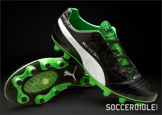 Nike Mercurial Vapor III, Adidas F50 Adizero: Puma King